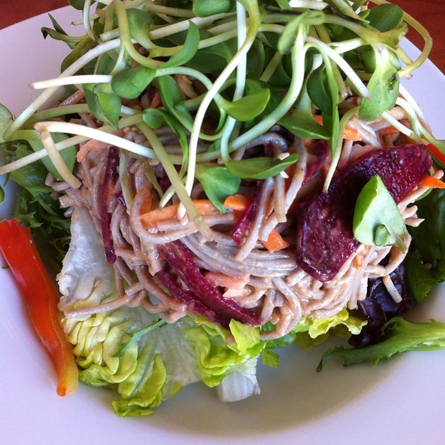 Cold Soba Noodle Salad @ Sobo | Sweet, salty, chewy, crunchi ...