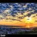 Sunrise over Danube