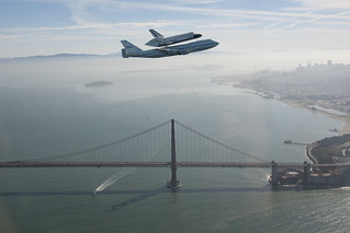 Endeavour Over The Golden Gate Bridge (ED12-0317-009) | by NASA HQ PHOTO