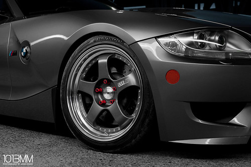 SSR Wheels BMW Z4 M Coupe Roadster | by 1013MM
