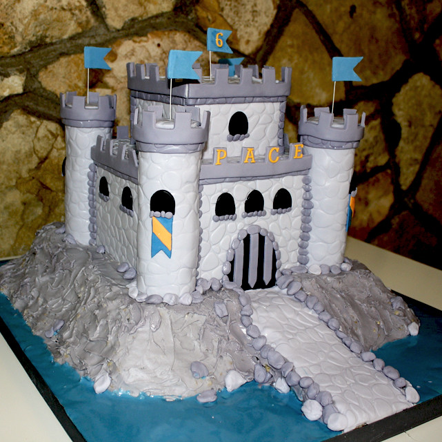 Castle Cake For Boy Coco Paloma Desserts Flickr