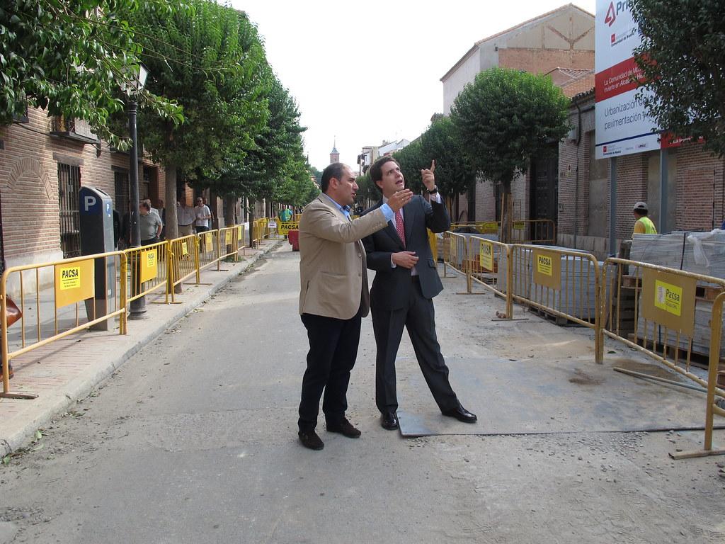 La comunidad rehabilita la c ntrica calle santiago en alc - Calle santiago madrid ...