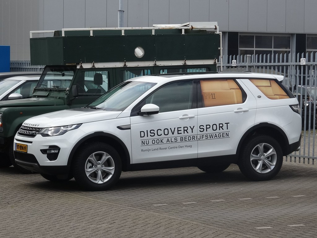 Range Rover Sport >> 2016 Land Rover Discovery Sport Van | Last year Land Rover i… | Flickr