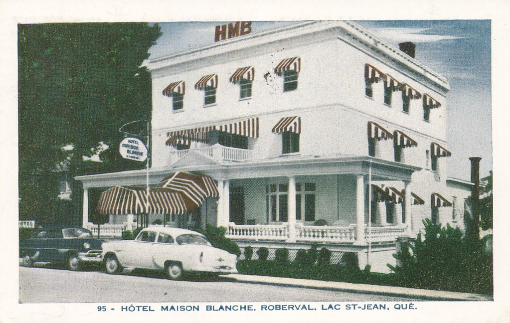 Hotel Maison Blanche - Lac St-Jean, Quebec