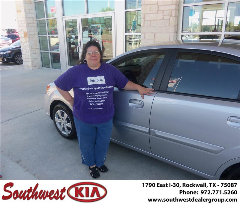 Congratulations To Lisa Gomez On The 2011 Kia Rio Flickr