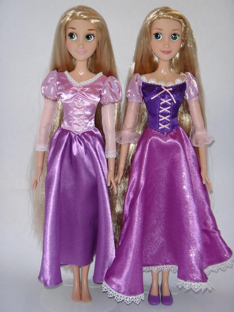 singing rapunzel dolls 2011 and 2012 disney store models flickr. Black Bedroom Furniture Sets. Home Design Ideas