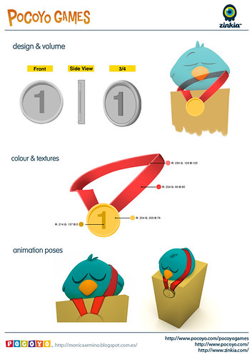 Pocoyo Games 2012 Medal one | by Mónica Armiño