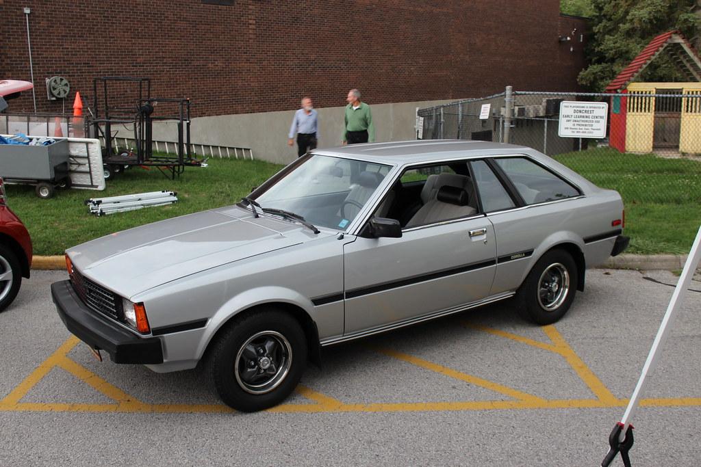 1984 Toyota Corolla Sr 5 Hatchback Richard Spiegelman