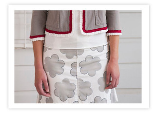 Little Flowers Skirt | by annamariahorner