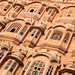 Hawa Mahal, Jaipur, Rajasthan State, India.
