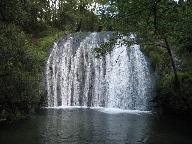 Cascada en San Xusto en Lousame