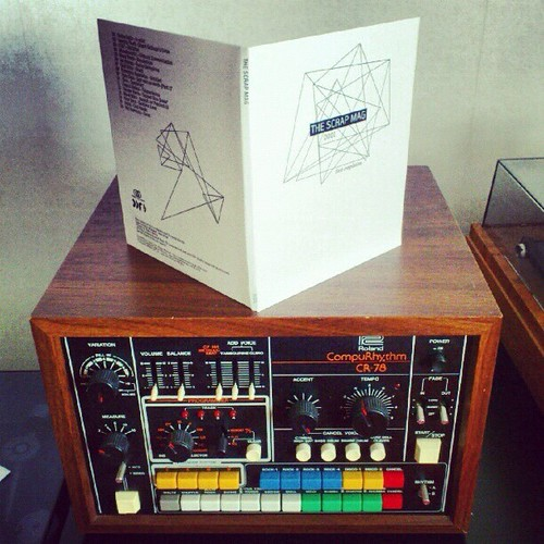 The Scrap Mag Compilation and Roland CR78. Thanks Daniel Svensson for this nice pic! | by The Scrap Mag