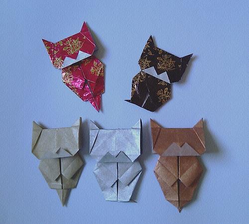 Origami Neko Bookmark (Jo Nakashima) | Tutorial: www ... - photo#8