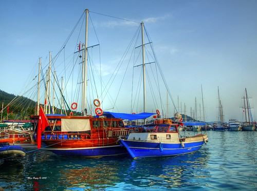 Boats in Bodrum | by Mine Beyaz