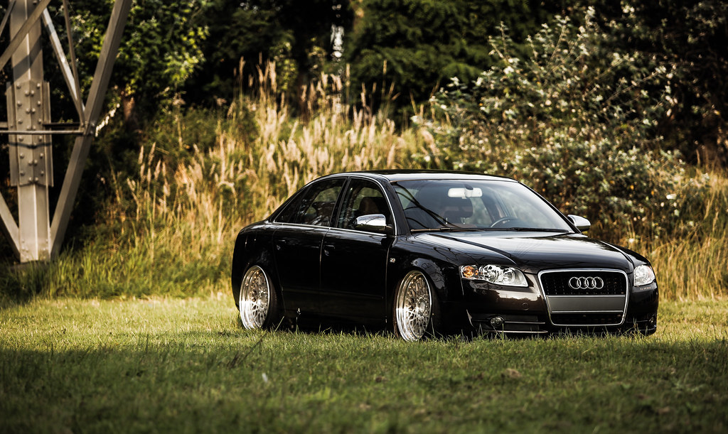 Stanced Audi A4 Lorenzo Hamers Flickr