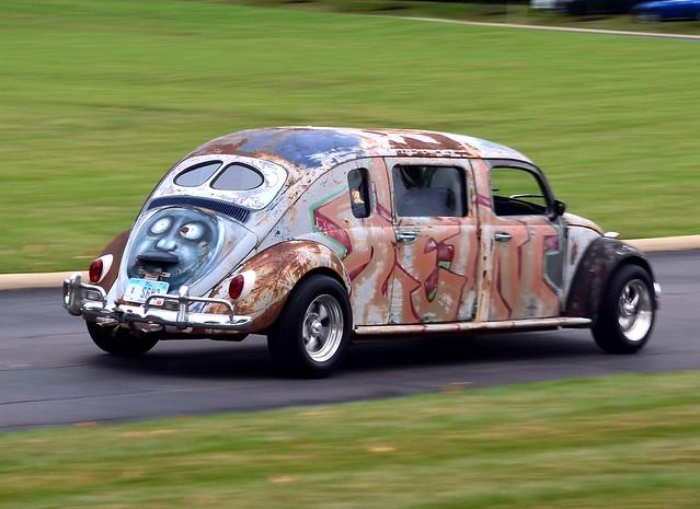 1966 vw beetle custom 4 door flickr photo sharing. Black Bedroom Furniture Sets. Home Design Ideas