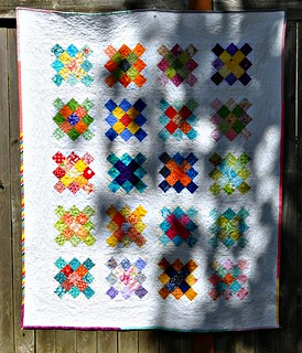 finished granny quilt, Believe Circle May 2012 | by vickivictoria