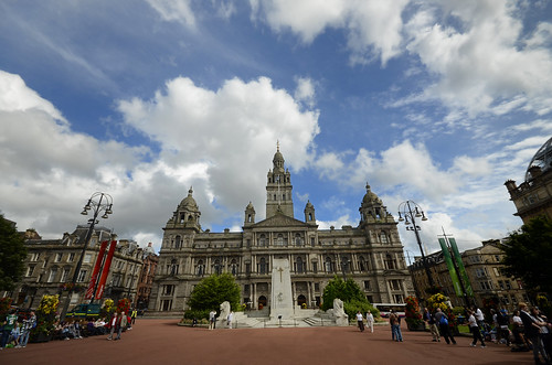 George Square - Glasgow | by Dragos Cosmin- Getty Images Artist