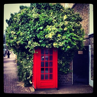 Phone box with Afro. Phone number Jackson 5-5-5 | by Flamenco Sun
