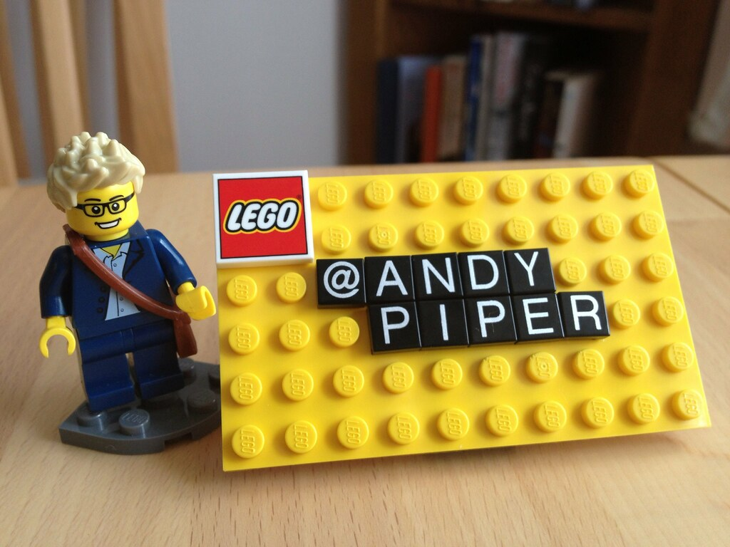 LEGO Business Card | LEGO 850425 Business Card Holder set | Andy ...