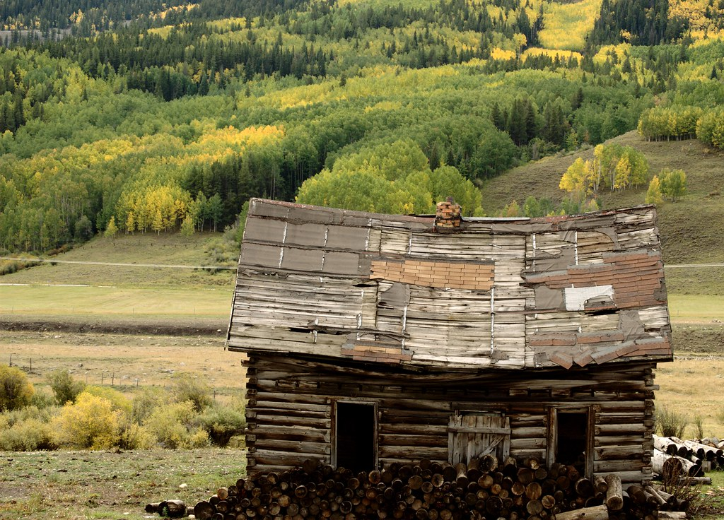 Old cabin outside crested butte brian wright flickr for Crested butte cabins