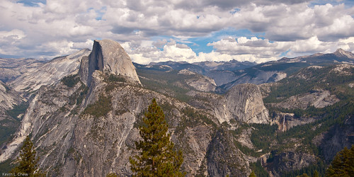 View from Glacier Point | by ChewDawg