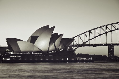 Sydney Opera House and Harbour Bridge | by chris.dustin