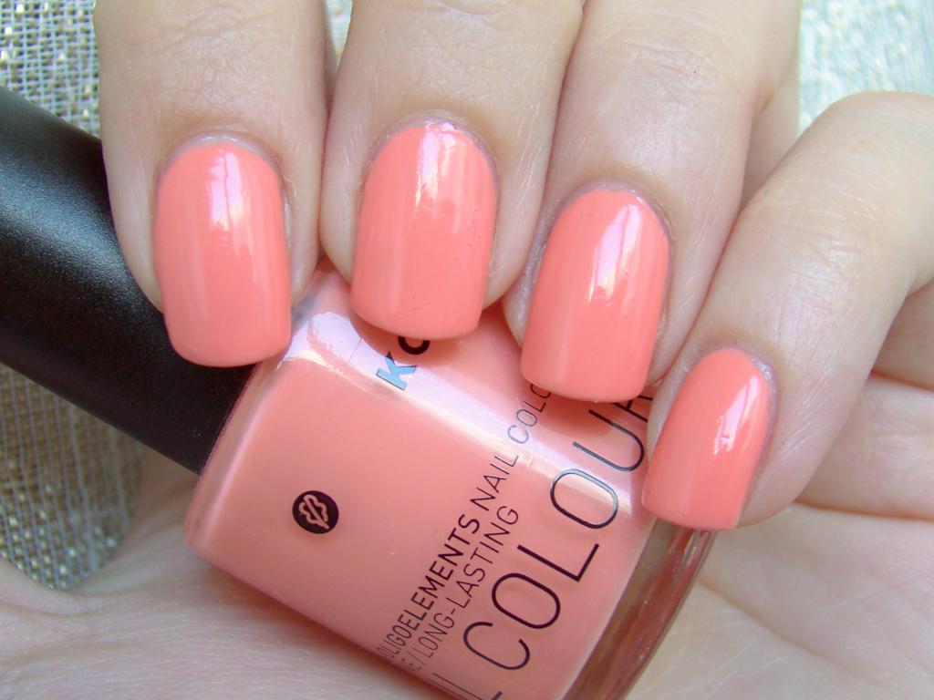 Korres Peach Cream   2 coats, natural light   milk_lizard   Flickr