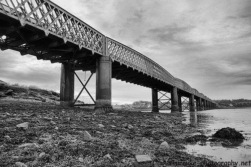"Montrose Rail Bridge B&W | by ""Mr Mike"""