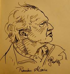 Portrait Ramon Alcain by Sketchmanni
