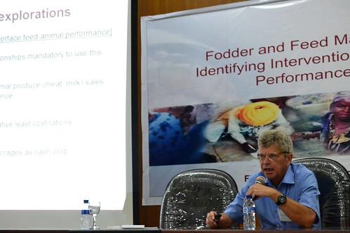 ILRI principal scientist Michael Blummel discusses feed quality analysis