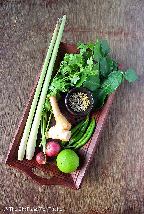 veg thai green curry paste