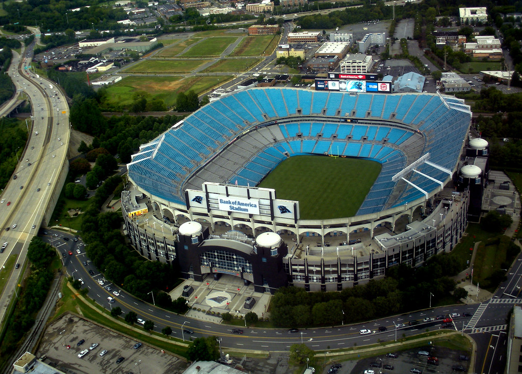 Carolina Panthers Stadium And Site Of The Dnc Suzie