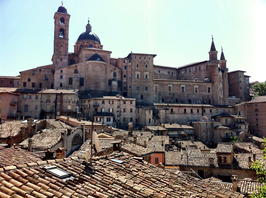 Urbino City View Of The Urbino City Centre Vincent