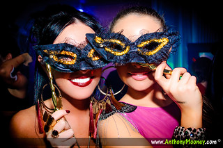 Sexy Girls Wearing Masks at Masquerade Ball | by Anthony Mooney