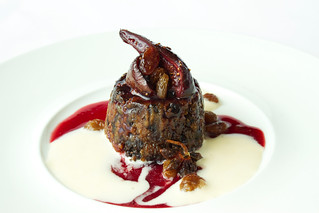 Christmas pudding with eggnog © Lia Vittone/ROH 2012 | by Royal Opera House Covent Garden