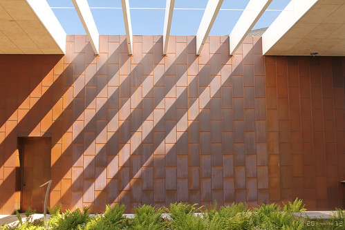 Inner Court of Bill & Melinda Gates Foundation Visitor Center | by Canadian Pacific