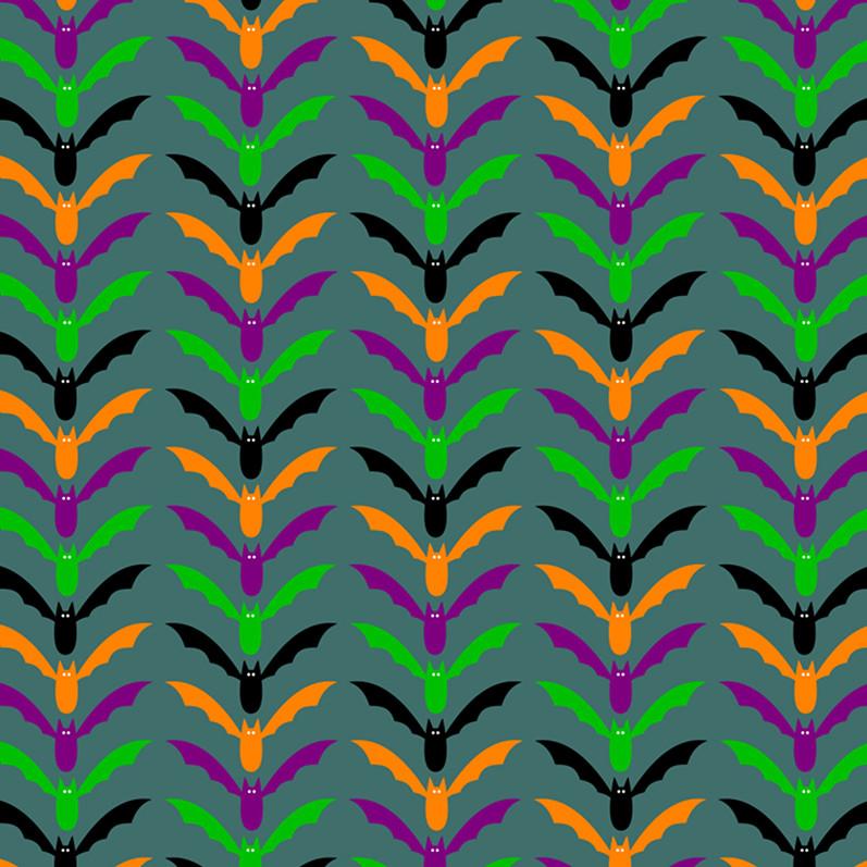 Download Scrapbook Paper With Halloween Bats Pattern Flickr