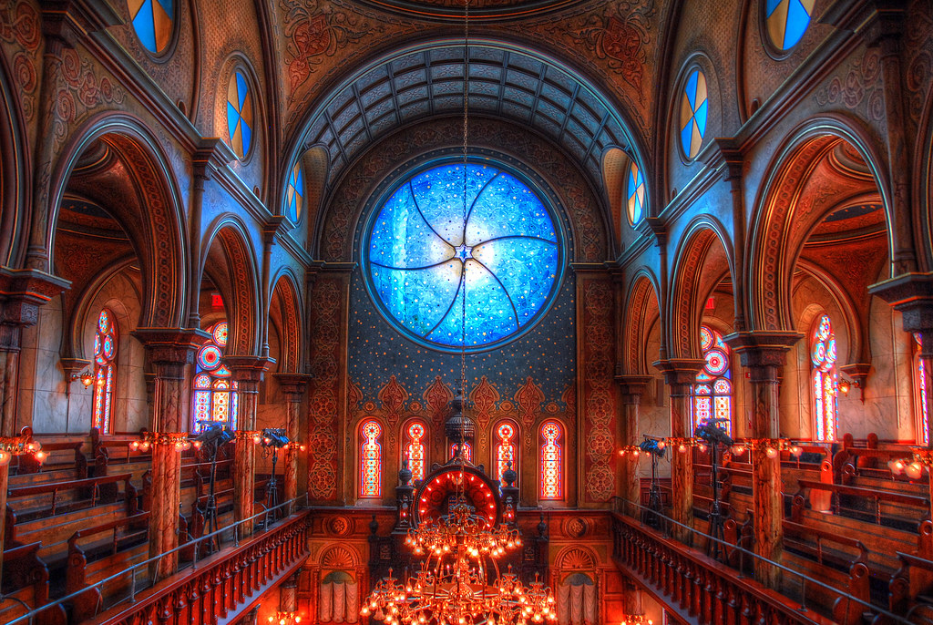 What Is A Side By Side >> Eldridge Street Synagogue | Lower east Side, New York, NY | Flickr