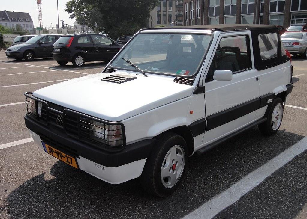 Fiat Panda Cabrioni Aperto 1000 Cl Ie 29 4 1991 Jp Vp 27