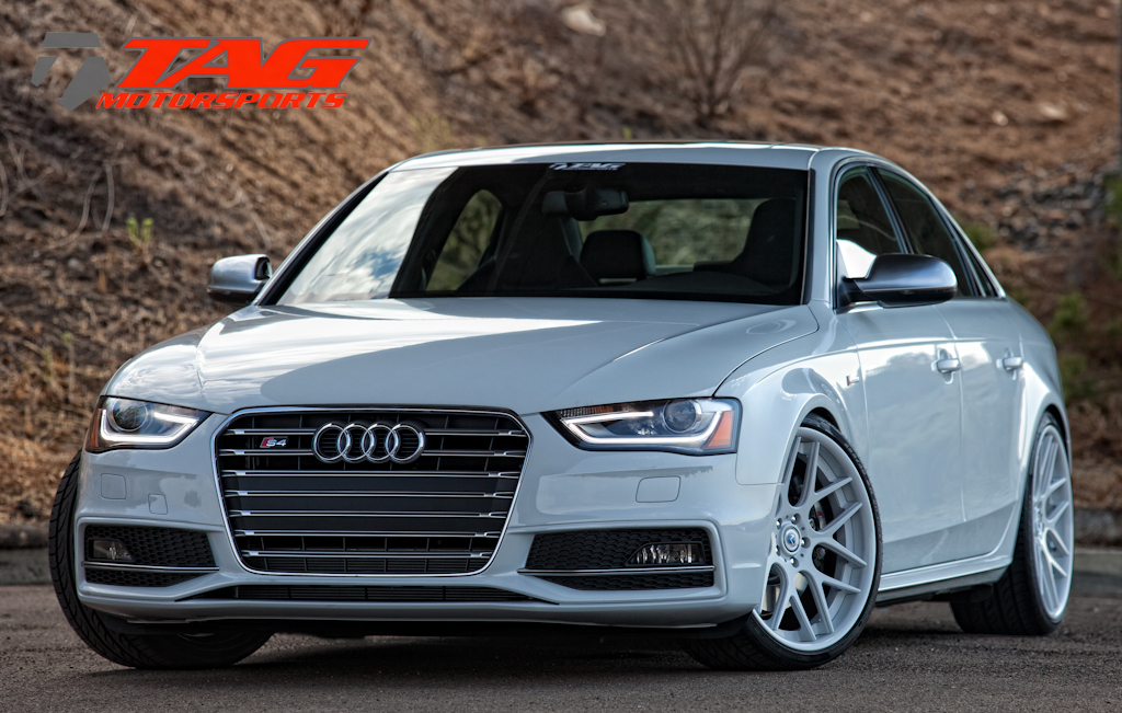 Audi S4 On 20 Quot Glacier White Ms70 20x9 5 Quot Multiforged