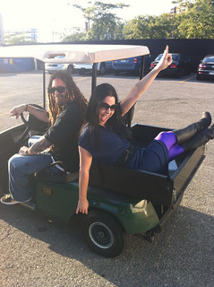 Amy and Terry relaxing before the Pittsburgh #CarnivalofMadness tour tonight! | by Evanescence Official