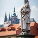 Prague - Statue du Pont Charles 2