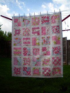 Mod Sampler Quilt | by juliezryan