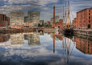 Reflections in the dock in Liverpool | by neilalderney123