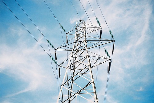 ot35 - power pylon against the sky | by johnnytakespictures