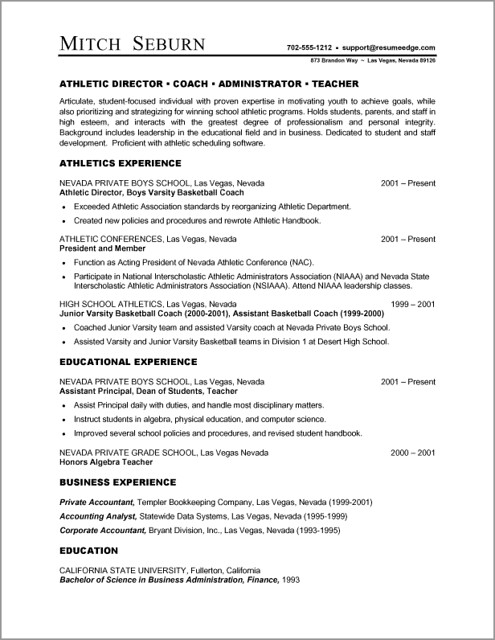 Teacher Resume Template Microsoft Word - Hlwhy