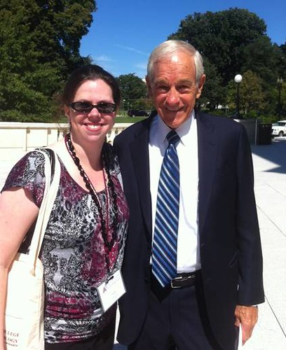 Advocate poses with Rep. Ron Paul | by American College of Rheumatology