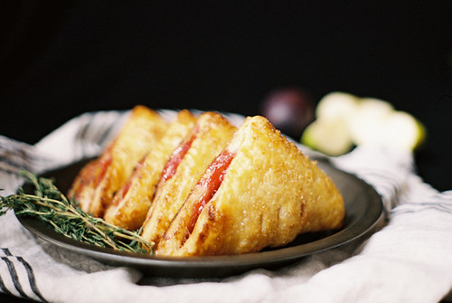plum and apple turnovers | by yossy arefi