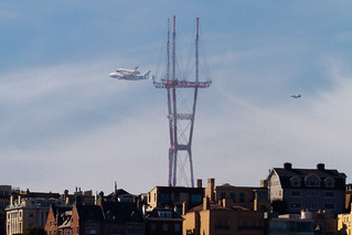 Space Shuttle vs the Space Needle | by bhautik_joshi